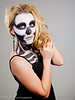 Skeleton Women Model- Gentry Everill MUA- Haley Davis