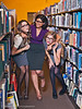 The Librarians Models- Crystal, Kim, and Hailey. Hair by Chris Howell