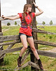 Alyssa's Western Style Shoot in Eagle Mountain.