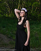 Flower Shoot at Butterfield Canyon. Models Kinzie R and Sammi E