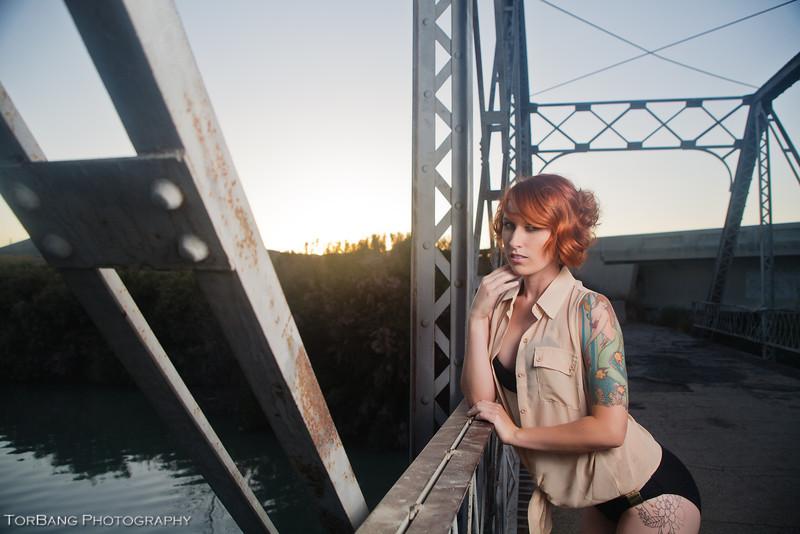 Model- Gentry Evervll<br /> Hair- Alexis Anderson<br /> Photography- Torsten Bangerter