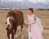 The Woman and The Horse Model- Gentry Everill MUA- Jillian Joy