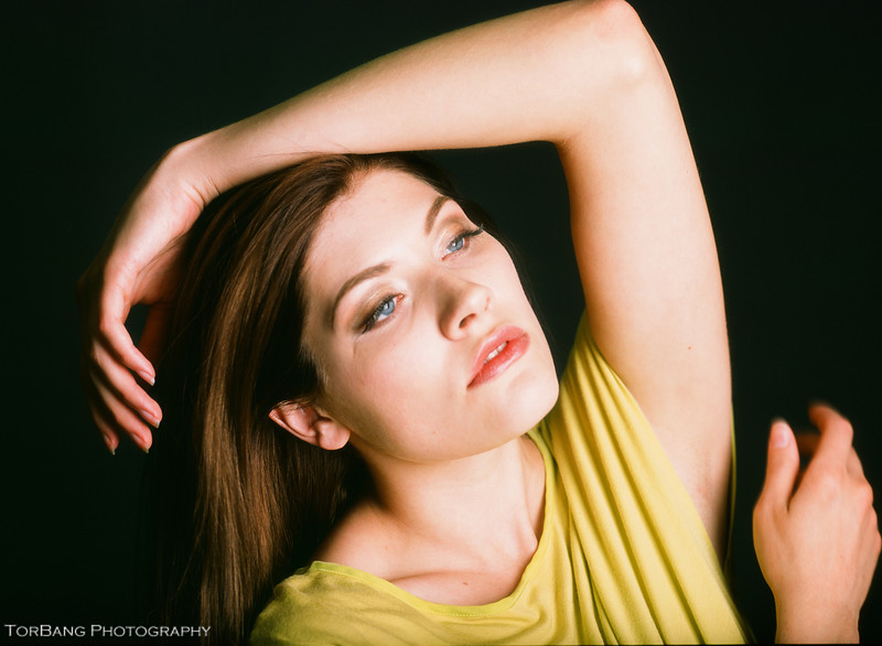 Hailey's Head Shots<br /> MUA Erica Lopez<br /> Mamiya 645 1000s | Provia 100