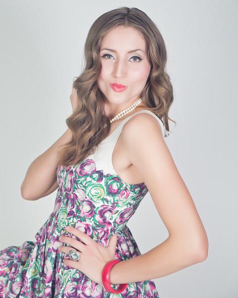 Happy Pinup Shoot Model- Hillary Baker MUA/Hair- Hillary Baker