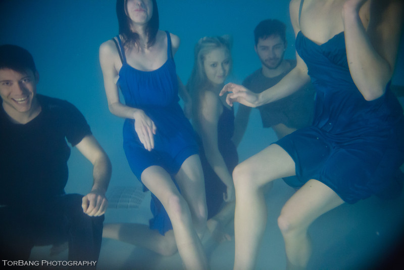 Underwater Adventures Models Lexi, Camille, Kori, Kenny and Justin