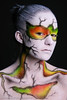 Model- Kristy Bennett Bodypainter- Richard Newman