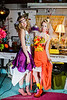 Napkin Dress Shoot Models Loren Berg and Mandy Sullivan Dresses Made by Jordan Halversen Styling Hillary Baker
