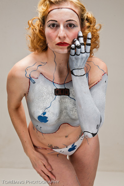 November Salt Lake Body Paint Leage Meetup<br /> Artist - Jez Roberts <br /> Model - Mary Carver