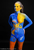 November Salt Lake Body Paint Leage Meetup<br /> Artist - Neena Plant<br /> Model - Nicole Bundrick