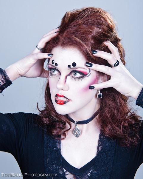 Da Spider Queen Model- Mercedes Hargrave MUA- Sara LaFollette