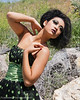 The Green One Model Cecila Tang MUA Brittney Brent