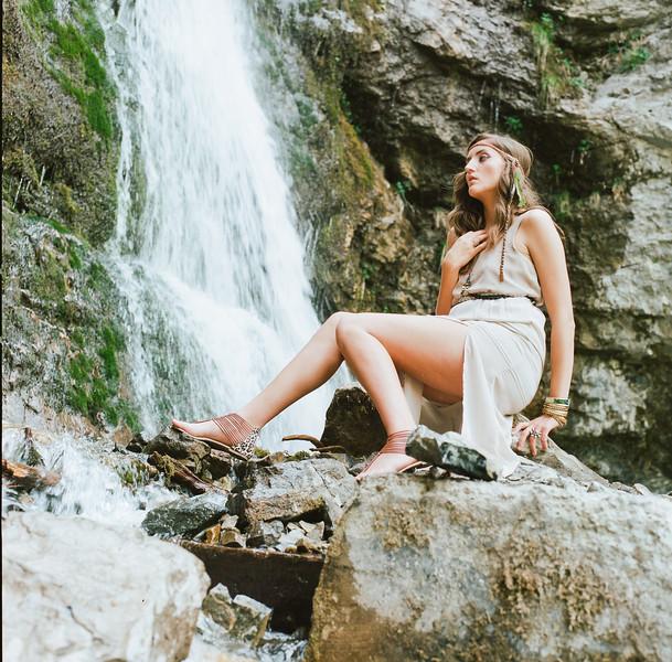 Upper Falls Shoot <br /> Model- Hillary Baker <br /> Photographer Torsten Bangerter