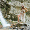 Upper Falls Shoot <br /> Model- Hillary Baker <br /> Photographer Torsten Bangerter