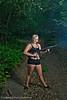 Veronica Gun Shoot at Butterfield Canyon<br /> Model- Veronica Halford <br /> Photographer- Torsten Bangerter
