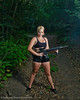 Veronica Gun Shoot at Butterfield Canyon<br /> Model- Veronica Halford <br /> Photographer- Torsten Bangerter