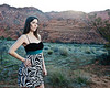 Kat's Shoot in Snow Canyon