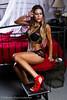 Model Irama Lopez Magill <br /> MUA Meshech Cheney