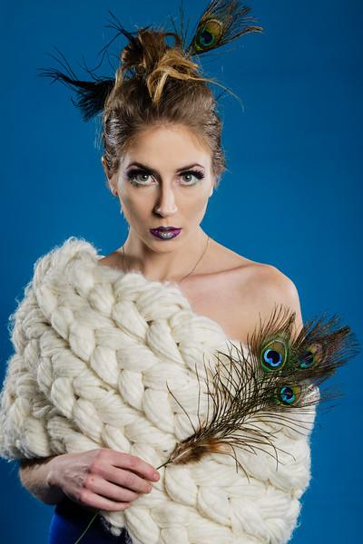 Model Kat Mead MUA Tiff Simpson