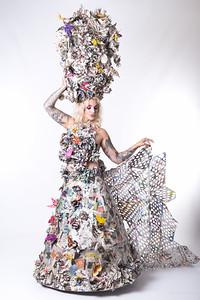 Michelle Paper Dress 20160828 200824