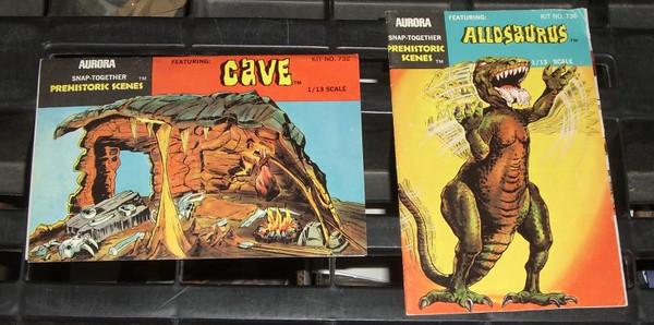 Dave Cockrum Aurora Prehistoric Scenes Art