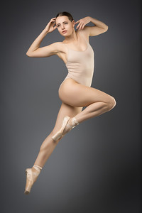 Ayla Rose, Ballet Poses in Studio