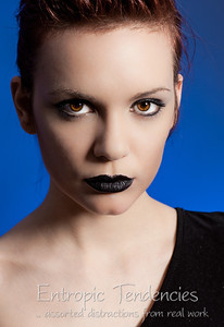 Cat Rennie, make-up by Ruth Evans
