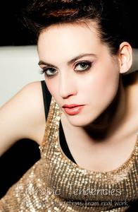 Charlie Banks - make-up by Ruth Evans and Tatiana Ashakova