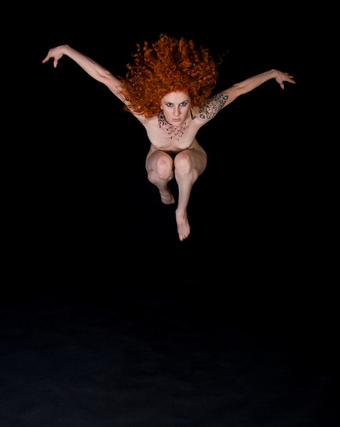 Leaping angel