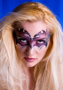 Elena - Fashion Mask - Blue Hen Studios - Newark, Delaware