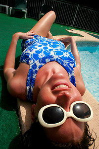 Erin - Poolside Fun - Cannes, France