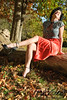 20081019 1-Outdoors Red Skirt_0162