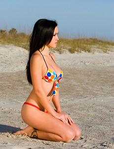 Nikki - Polka-Dot Bikini Beachside - Saint Augustine, Florida