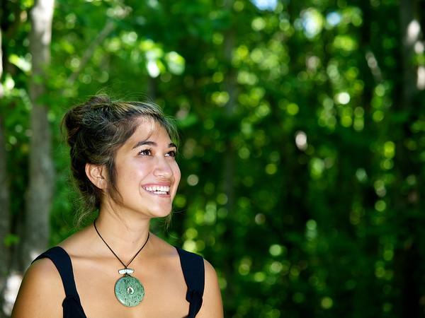 Young Maori Woman