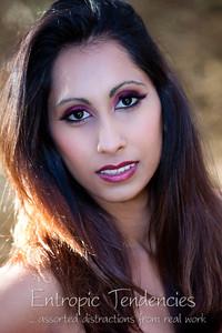 Haz Still - make-up by Ruth Evans