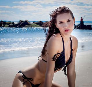 Coney Island Bikini Shoot