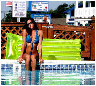 Jenn - Poolside - Chincoteague, Virginia