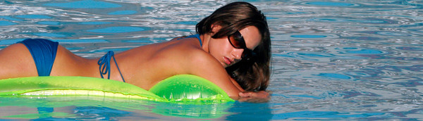 Jenn in the Pool II - Chincoteague, Virginia