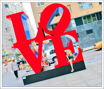 LOVE - Jennifer in New York City, New York