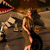 Katie Kells NY Pin Up Club Air Power Museum