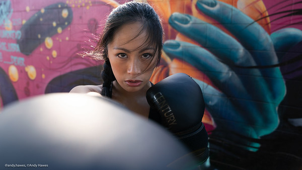 Andy Hawes Photography, Kim Buhay Muay Thai, DoneStills