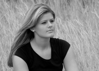 Kizzy - Portrait in Black and White - Oklahoma