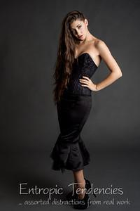 Madame Bink Madame Bink - black Nikita Sablier corset Photographer: Barrie Spence