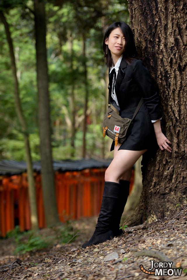 Masumi at Kyoto