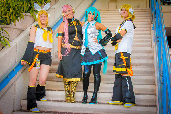 MetroCon, anime Convention, front of Convention Center, Tampa FL, 7 12 2014