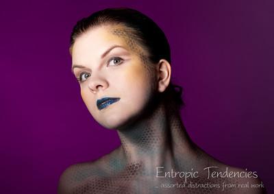 Miel - make-up by Sam Brown