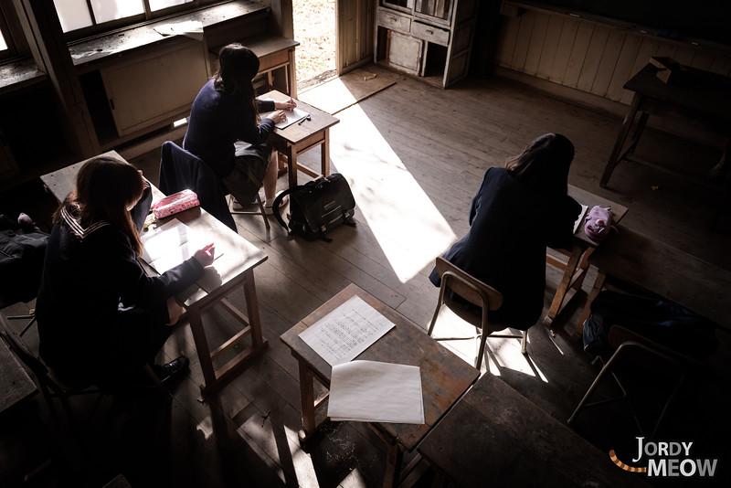 Haikyo School With N&M&K