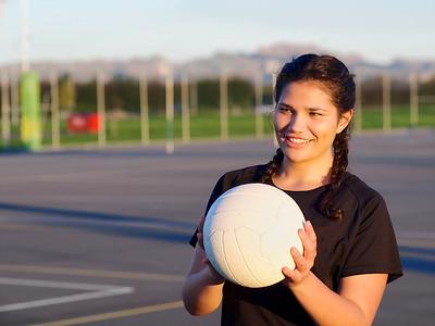 Netball Player