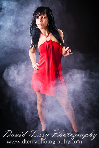 David Terry Photography - Taylor Lakin Tabarez - Playing with Fog