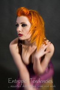 Ulorin Vex, make-up by Lorraine Brown