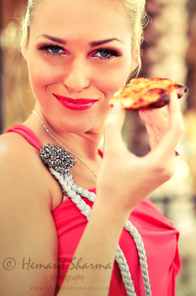 Model: Helena Yuliya Gayduk<br /> MUA: Laila Mohamad Sohail<br /> Designer: Varun Mohan